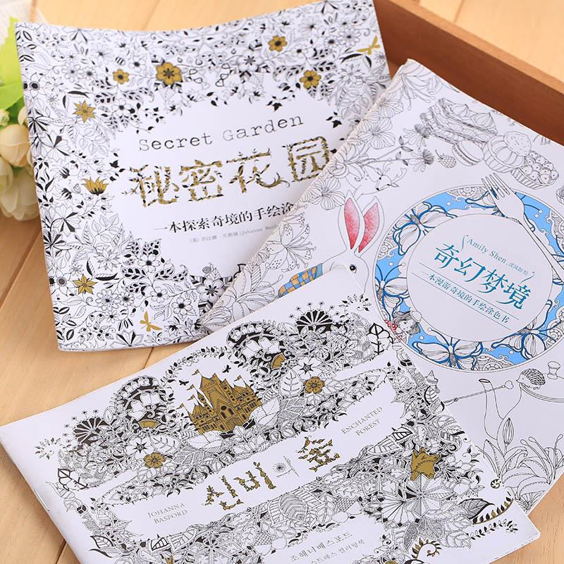 Antistress Relax Funny Graffiti Sketchbook Painting Coloring Book for Adult Kids(China (Mainland))