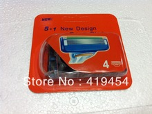 Hot Factory price Neutral package Blade for Men  Razor Blade Grade razor blades in stock (1pack=4pcs)12000pcs DHL Free Shipping(China (Mainland))
