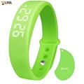 Sports Bracelet Pedometer wristband Fitness Tracker Sleep Monitor Real Time Temperature Display Bracelet Smartband Usb Charging