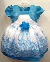 Print Fashion Chiffon Print Lace Ball Gown Infant Baby girls dresses(China (Mainland))