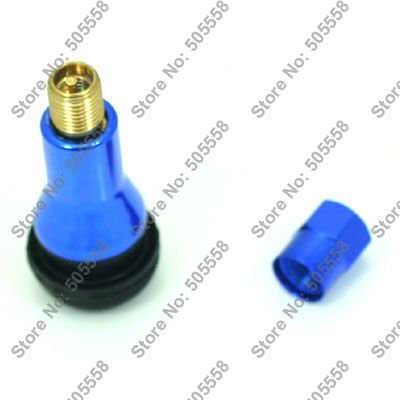 Free Shipping Snap-in Tubeless Wheel Rim Tire Valves Stem TR413 Blue Color<br><br>Aliexpress