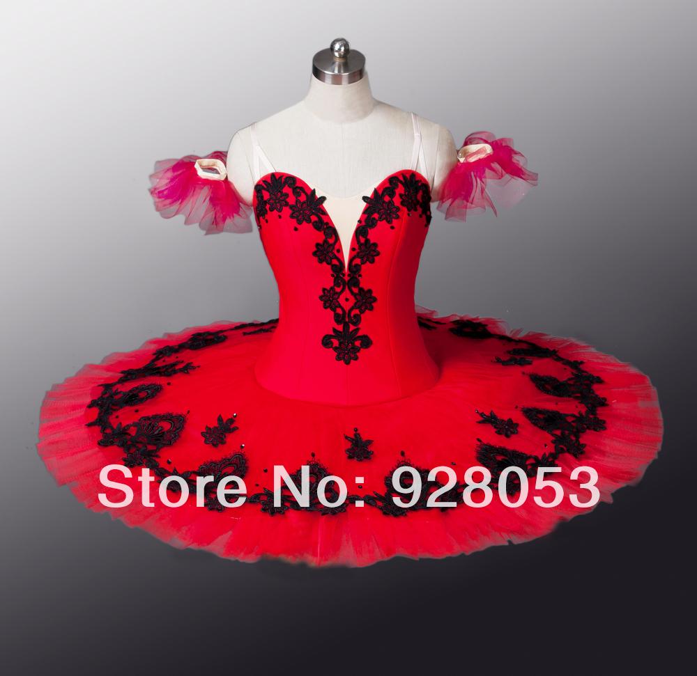 Free Shipping!Women Ballet Tutu;Red Skirt; Adult Professional Ballerina Dresses;Classtical Tutu For Girls;Dance Costumes AT0002(China (Mainland))