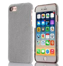 7plus winter warm plush case Bag for apple iPhone 5 5S 6 6S 7 Plus soft velvet pc back Cover protective Fitted phones shell capa(China (Mainland))