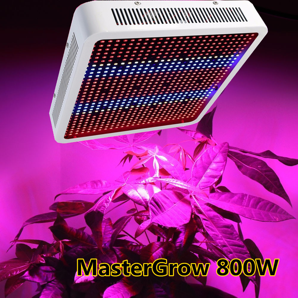 Master Full Spectrum 800W LED Grow Light Red/Blue/White/UV/IR AC85~265V SMD 5730 Led Plant Lamps Best For Growing and Flowering(China (Mainland))