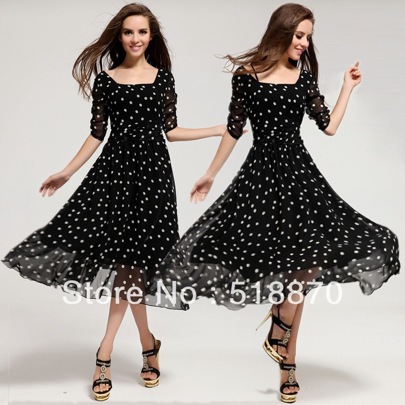 Model Com  Buy Women Dress Bodycon Vintage Elegant Dresses Sexy Half Sleeve