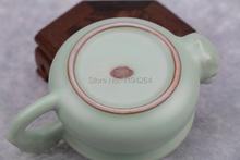 Sky Cyan Ru Kiln Celadon Ware Kungfu Teapot Teacup Tea Set 150ml