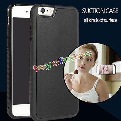 AP62 Anti-Gravity Magical Sticky Silicone Case Cover Adsorption Functional Shell for iPhone 6 6s 6plus(China (Mainland))