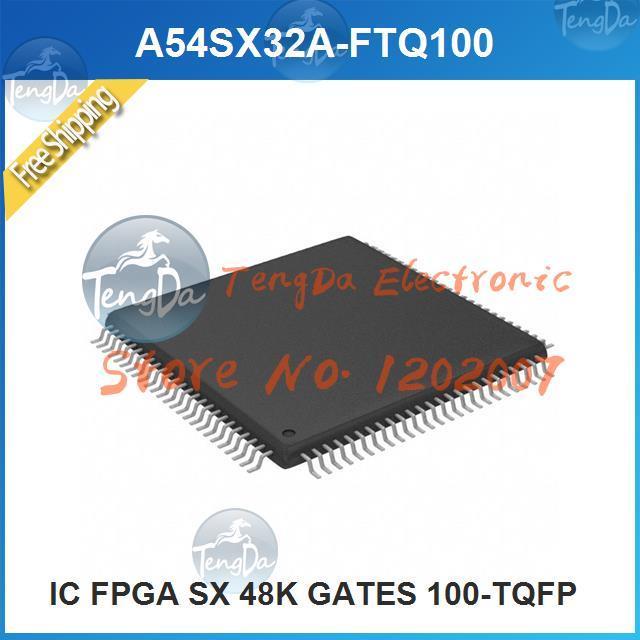 Free Shipping 1PCS/lot A54SX32A-FTQ100 IC FPGA SX 48K GATES 100-TQFP 100 A54SX32A(China (Mainland))