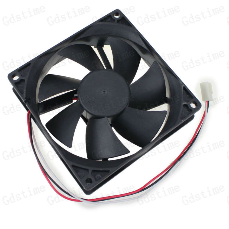 1000pcs Lot 90mm 9CM 92x25mm 3Pin 12v Computer Cooler Cooling Fan Factory Wholesale Price<br><br>Aliexpress