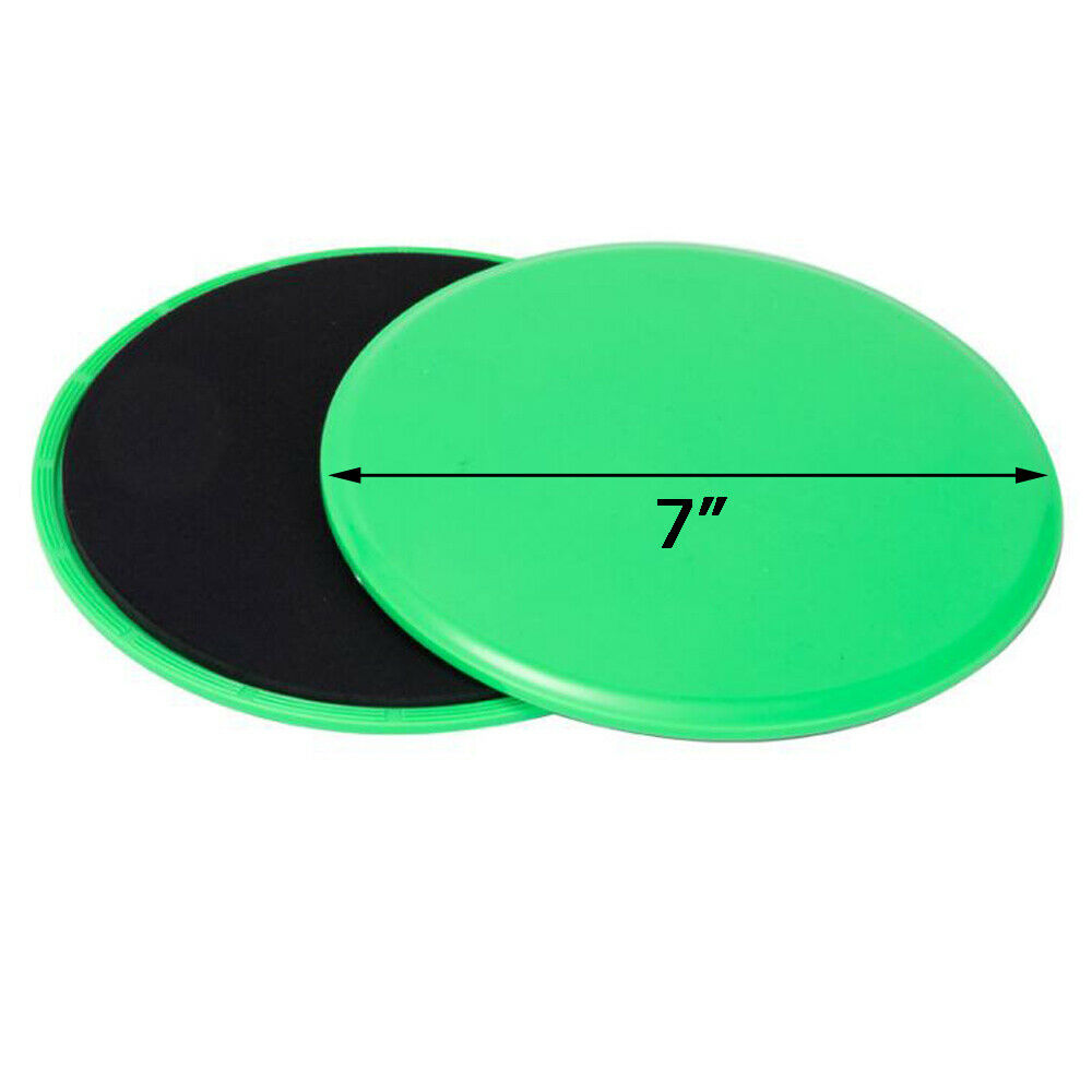 Details about  /Workout Fitness Sliders Exercise Sliding Gliding Disc Pads Core Gym 2 Pcs