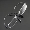 4 Color Super Light Eyeglasses Frame Eyewear Frames Rimless Men Unisex Glasses Frame Memory Optical Spectacles