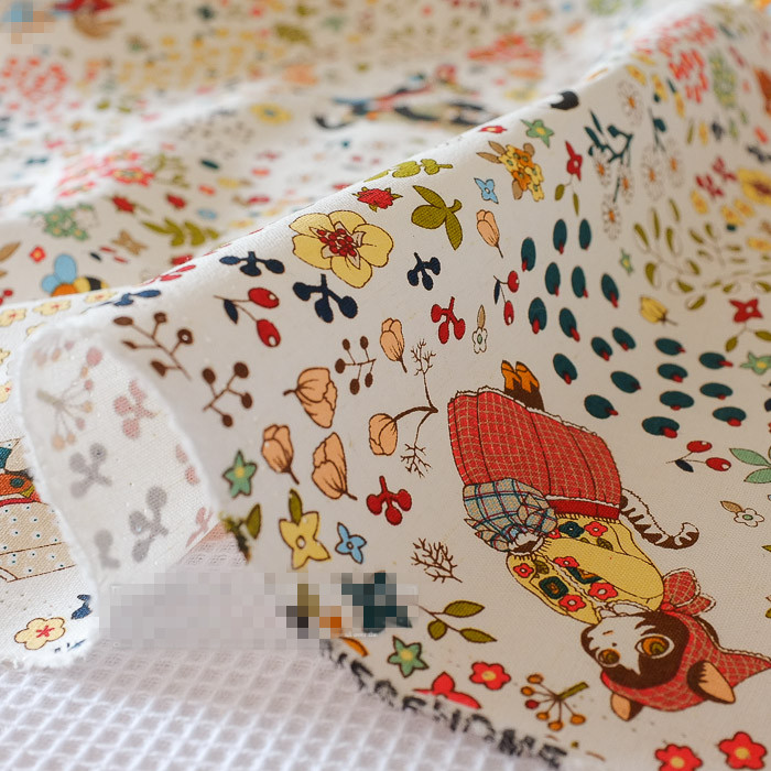 100cm*145cm Japanese Patchwork Cotton Fabric Linen Vintage Fabrics Home Textile Meter Sewing Zakka Cushion Cheap Fabric China(China (Mainland))