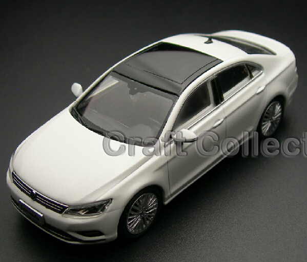 * New White 1:43 Volkswagen VW Lamando 2015 Diecast Model Car Classical Sedan Collection Several Colors(China (Mainland))