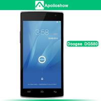 New DOOGEE KISSME DG580 5.5' Screen MTK6582 Quad Core 1.3GHz Mobile Phone Android 4.4 OS 1GB+8GB 8.0MP 3G GPS OTG OTA Free Gift