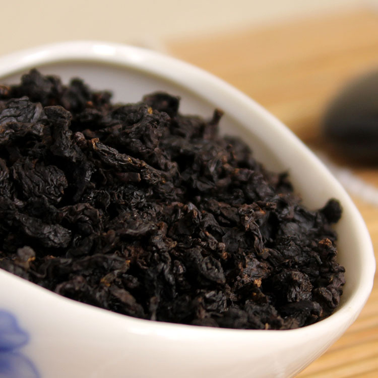 125g Anxi black oolong tea oil cut black tea authentic Chinese High concentrations lose weight and