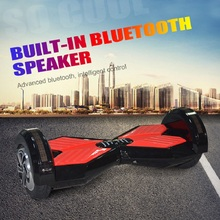 Two Wheel 8 Inch Electric Balanced Board Scooter with LED Light US Stock High Quality Bluetooth Speaker Smart Balance