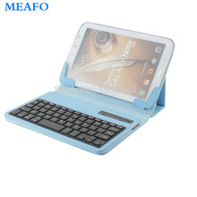 Hot Sale Universal for 7″ 8″ Tablet PC Foldable Wireless Detachable Bluetooth Keyboard Case in iOS Android Operation System