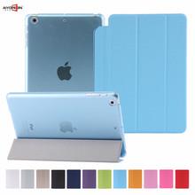 For iPad Mini 1 2 3 cover pc bottom case 5 Shapes Transformer Folding Cross smart auto sleep For iPad mini 7.9inch(China (Mainland))