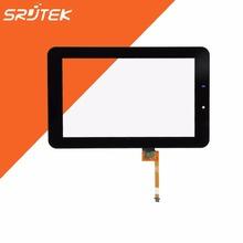 For HuaWei MediaPad 7 Youth s7-701 S7-701u S7-701w HMCF070-0880-v5 New Black Touch Screen Panel Digitizer Sensor Glass