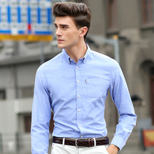 7 Colors New Mens Shirts Casual Men's Luxury Dress Shirts 2015 Mens Slim Fit shirt Fashion For Men Brand Long Sleeve Shirts,1358(China (Mainland))