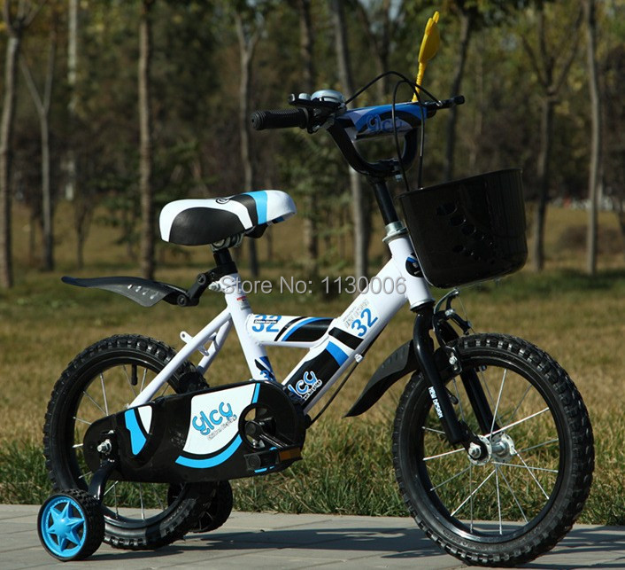 Selling ! variety of colors 14 inch Kids Bike children's bicycles Free get cycling suite gift Free shipping(China (Mainland))