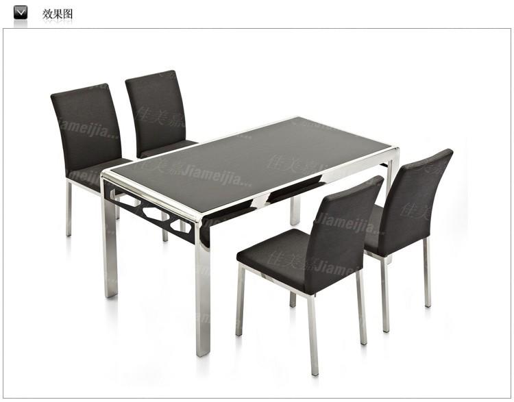2013 acero inoxidable moda moderna muebles de vidrio mesa de comedor mesa de comedor de m rmol - Muebles de vidrio ...