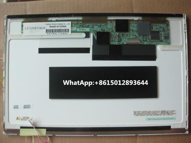 LCD Screen LAPTOP For TOSHIBA Fujitsu S6410 S6420 S6421 LT133DEVJK00 13.3 InchWXGA NRL75-DEVJK11A Notebook Display Replacement(China (Mainland))