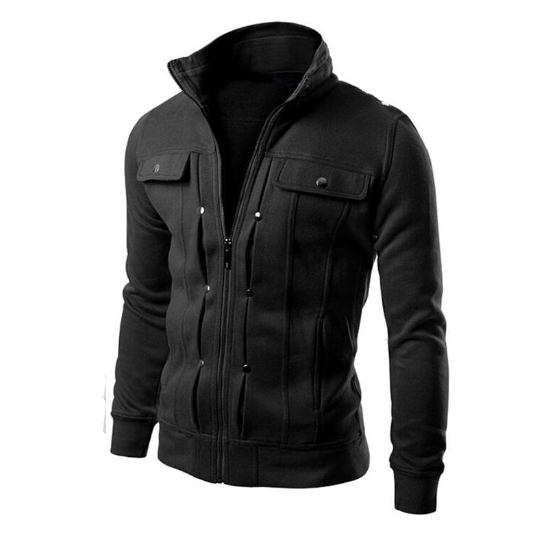 2015 Brand Mens Hoodies And SweatshirtsTracksuits Solid Fashion Hoodie Zipper Design Tracksuit Men's Sportswear Winter FHY40