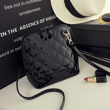 Fashion shell Small Plaid Quilted Handbags High Quality Ladies Party Purse Women Clutch Famous Shoulder Messenger Crossbody Bags(China (Mainland))