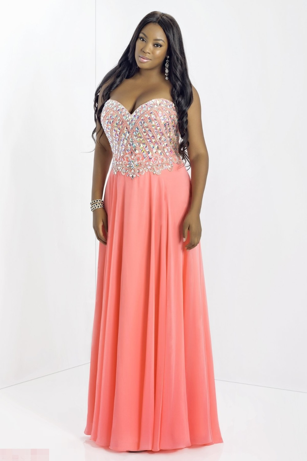 high school graduation dresses plus size