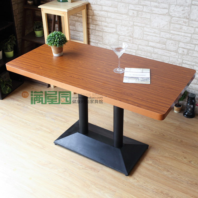 The new tea shop manager of dining tables Desk table top sweetener tea cafe tables Dining tables made(China (Mainland))