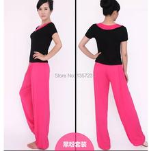 200pcs/lot Free Shipping M-2XL Women Modal Fabric Wide Bloomers Drawstring Sport Pants Soft  Wear 15Colors Dropshipping(China (Mainland))