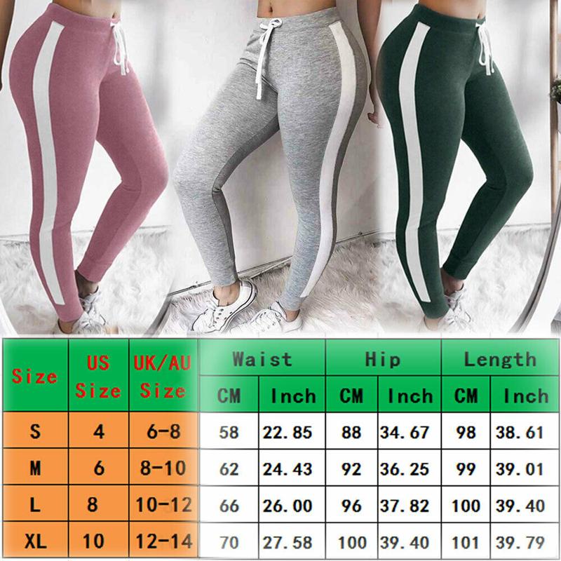 Women Yoga Leggings Fitness Sports Gym Size 6 8 10 12 14 16 High Waisted Patns