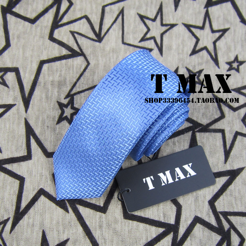 T max blue tie male 5.5cm tie formal casual married commercial tie