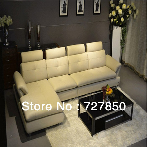 Modern high quality real top combination sofa leather s - Best quality living room furniture ...