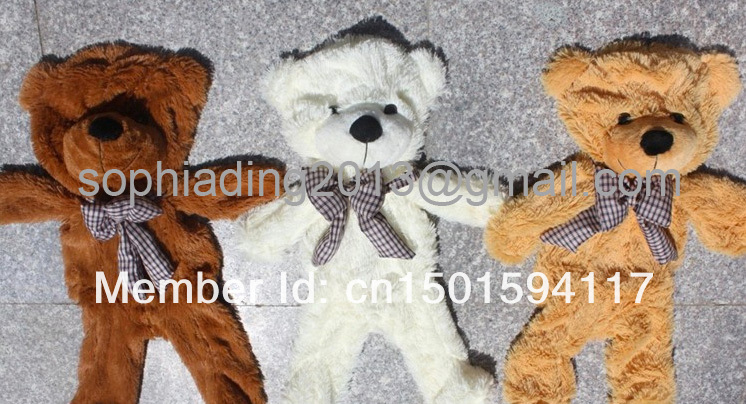 160cm 3color bulk Teddy bear toys skin without fiber(China (Mainland))