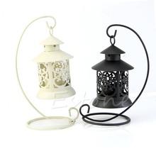 Free Shipping Iron Moroccan Style Candlestick Candleholder Candle Stand Light Holder Lantern(China (Mainland))