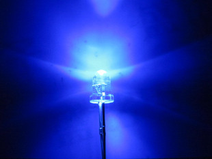 1000pcs F3 3mm Blue Round Super bright LED Light LED water clear(China (Mainland))