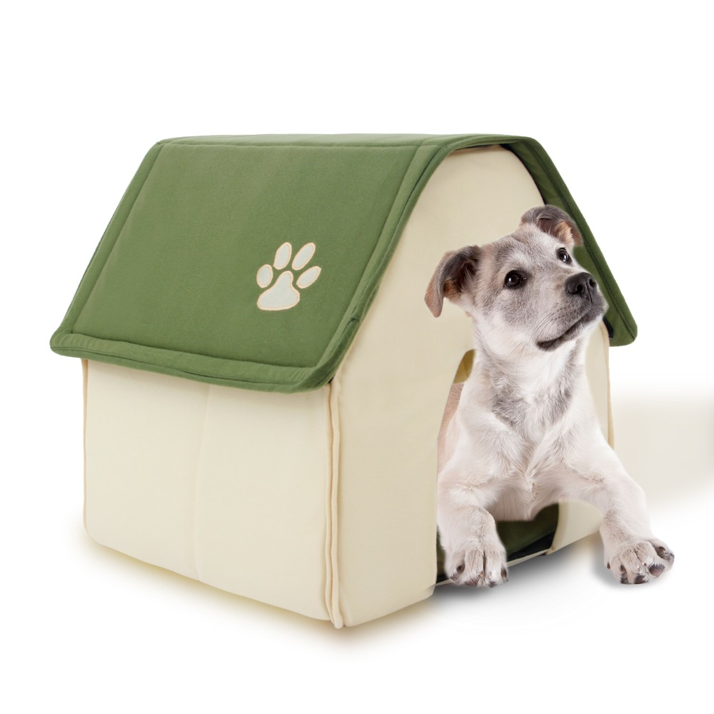 2015 new product dog bed soft dog kennel dog house for pets cat puppy home shape animals house - Gardening for pets ...