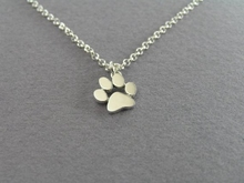 2016 New Choker Necklace Tassut Cat and Dog Paw Print Animal Jewelry Women Pendant Long Cute Delicate Statement Necklaces N191(China (Mainland))