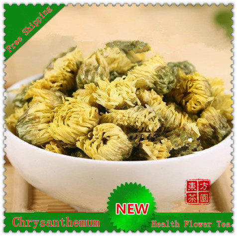 Do Promotion!!!100% Natural Tire Chrysanthemum Flower Tea Clear internal heat Herbal Tea Scented Tea+Secret Gift+Free Shipping(China (Mainland))