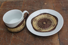 Coffe cup /Bamboo Covered cup 02