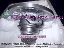 Turbocharger Chra/cartridge of RHF55 8973628390 114400-4260 For HITACH ZAX240-3 ZAX230 Excavator;ISUZU ELF-NPR75 NQR75 4HK1