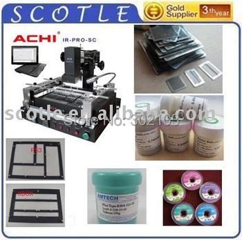 Freeshipping IR-PRO-SC BGA Repair Station 100% original from ACHI+Free accessories, Offical agent