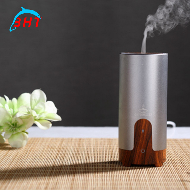 Silent Mini Humidifier Portable Essential Oil Car Aroma Diffuser Air Freshener Cooler Water Mist Maker With USB Charger Cable(China (Mainland))