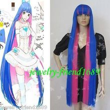 Wholesale& heat resistant LY free shipping>>>New cosplay Pretty Panty and Stocking with Garterbelt Stocking cos wigs