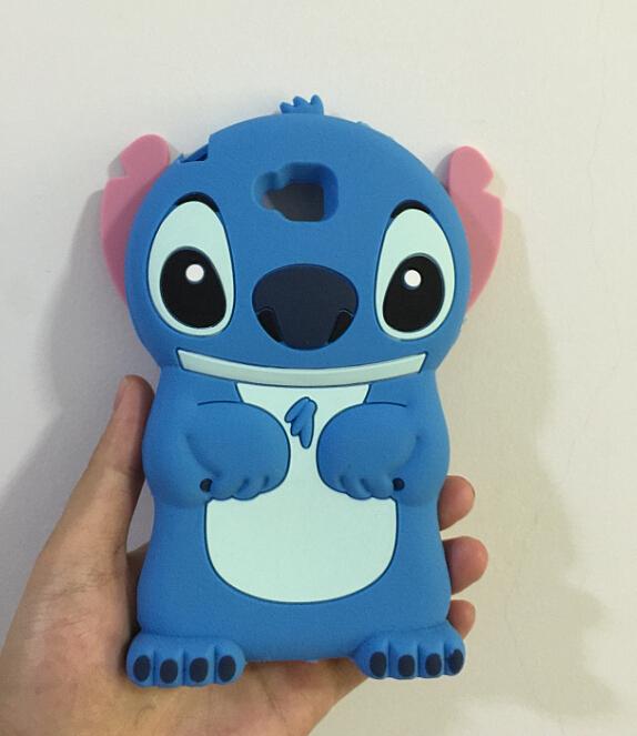 3D Cute Stitch Soft Silicone Rubber Cover Case LG G Pro Lite D680 D686 - ALEX ZHOU Store store