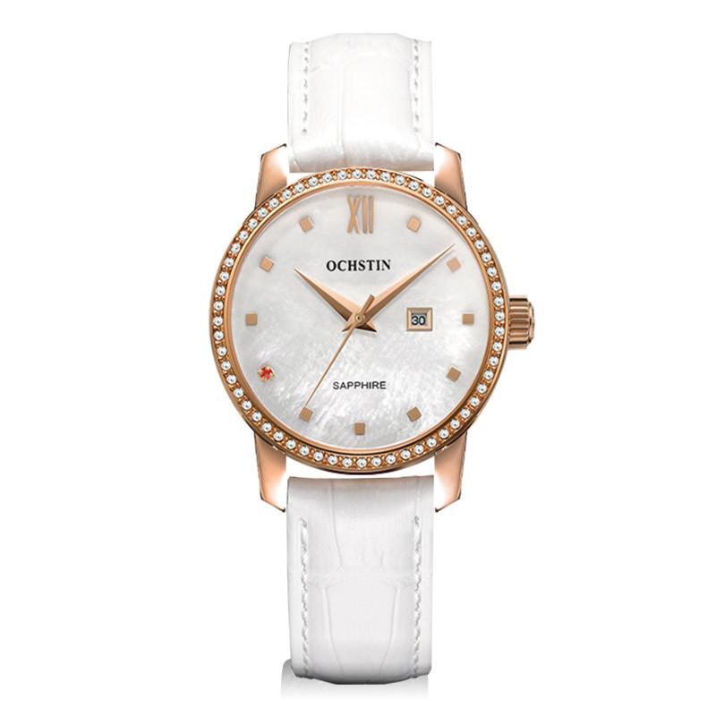 Ladies Watches Top Brand Luxury Diamond Watch For Women Brand Fashion Quartz-watch Waterproof Leather Strap Female Wristwatch(China (Mainland))
