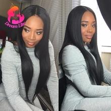 Virgin Peruvian Hair Bundles Straight Weave 3PCS Grade 10A Unprocessed Human Hair Good Quality Very Soft Peruvian Straight Hair