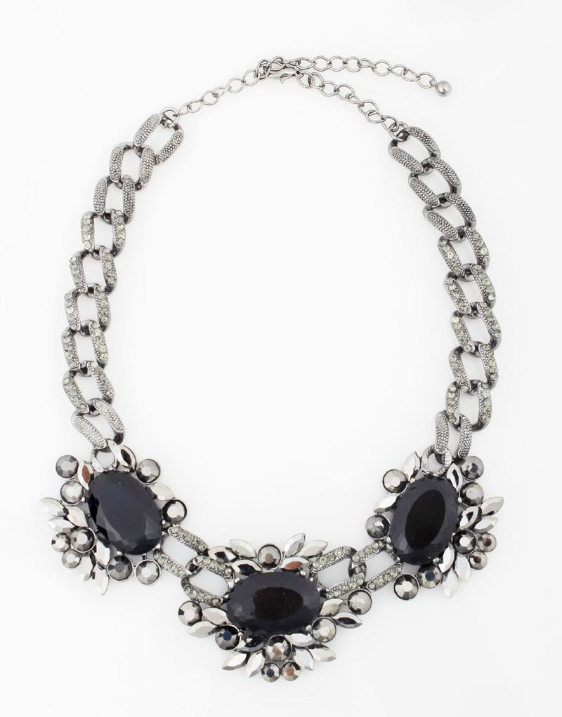 2014 latest fashion necklace crystal jewelry statement